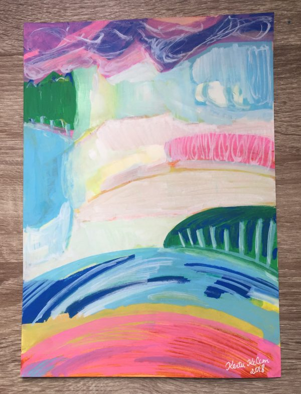 White Cliffs Fine Art Print