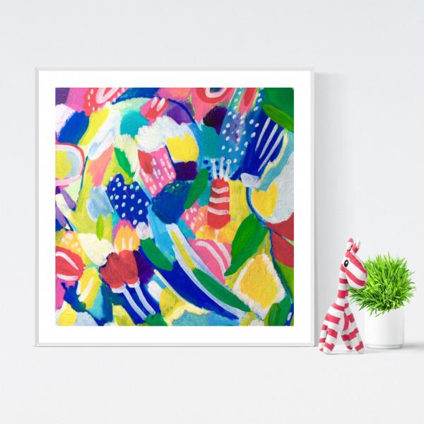blossoms - flower print fine art print